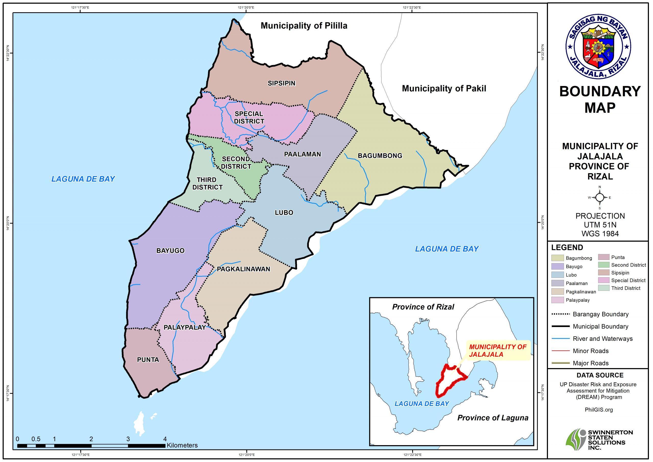 BARANGAY BOUNDARY MAP