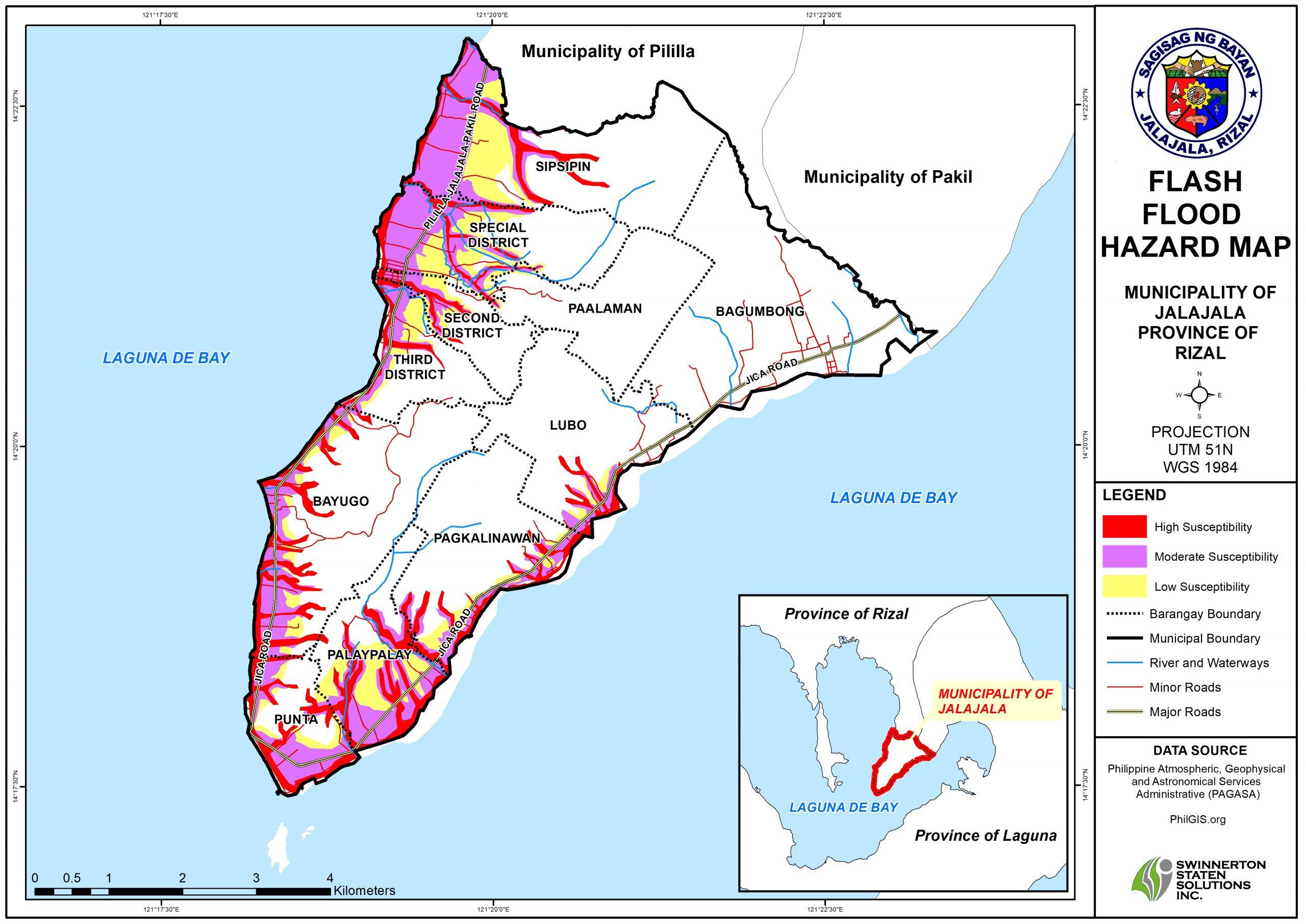 FLASH FLOOD HAZARD MAP