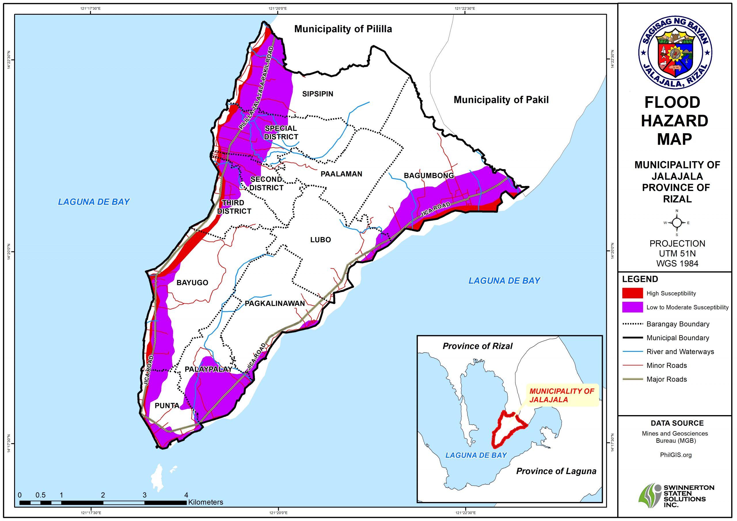 FLOOD HAZARD MAP