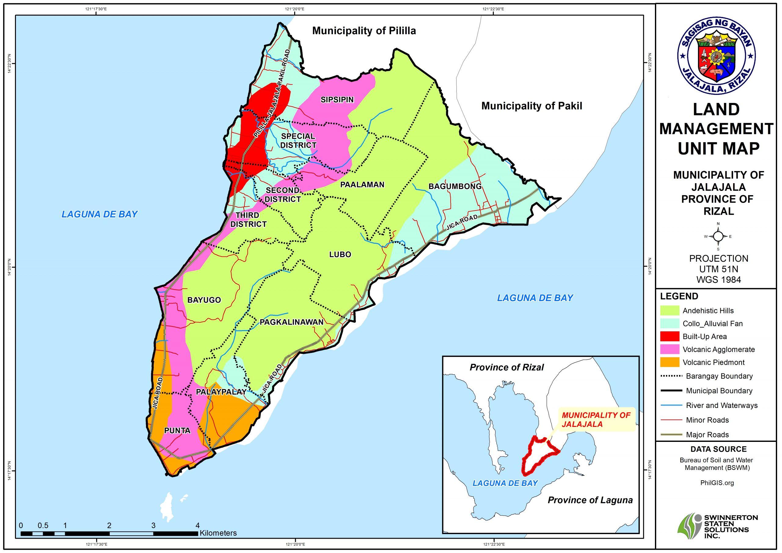 LAND MANAGEMENT UNIT MAP