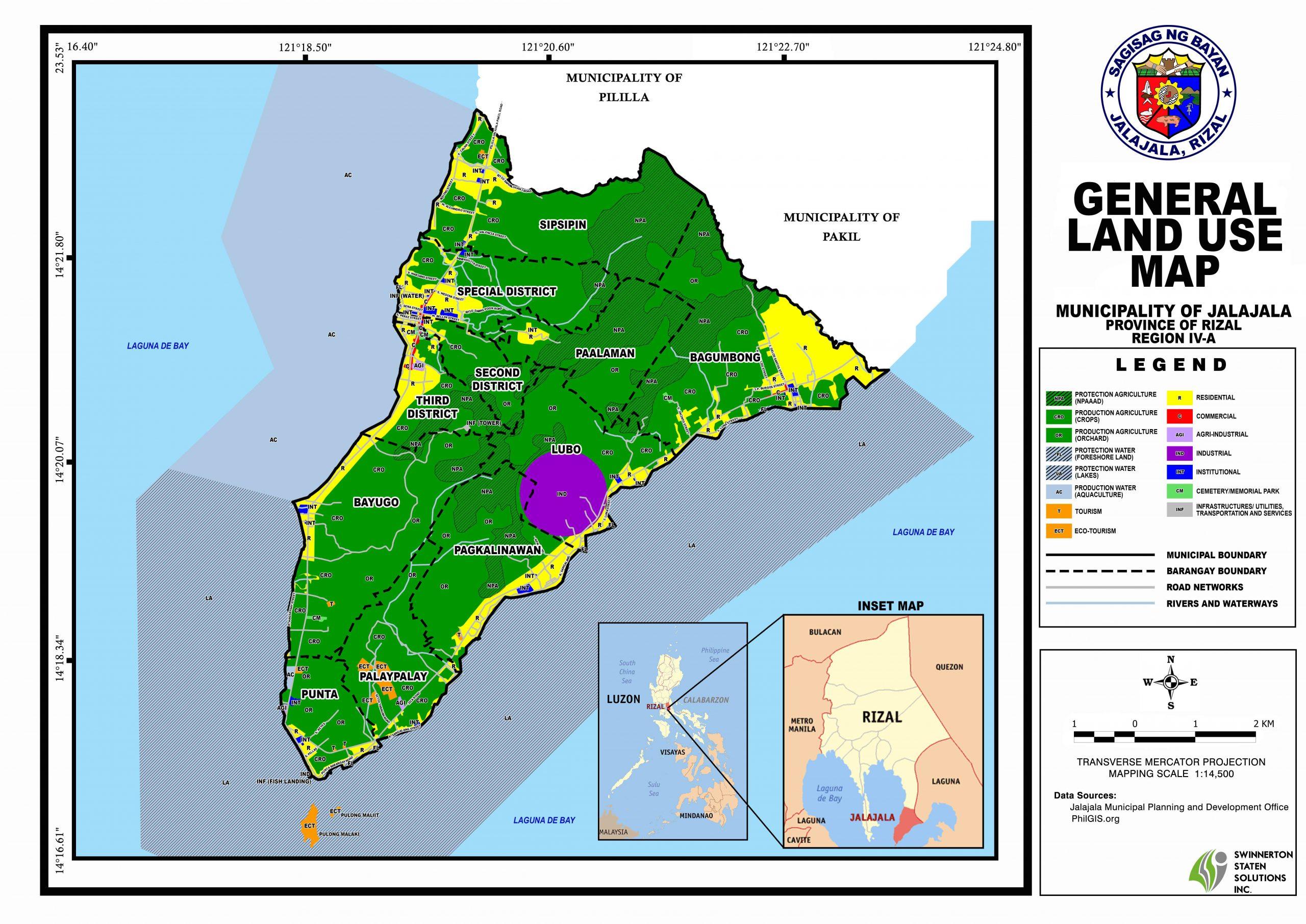 GENERAL LANDUSE MAP